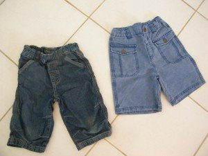 Pantacourt jean / Short jean 5 ans